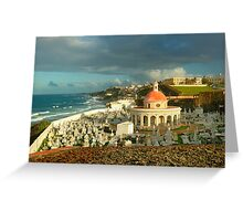San Juan Cemetery  Greeting Card
