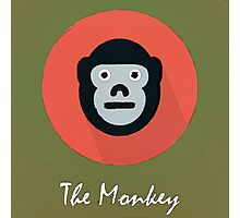 The Monkey Cute Portrait Photographic Print