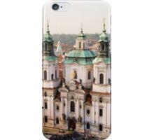 Saint Nicholas Church in Prague iPhone Case/Skin