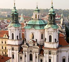 Saint Nicholas Church in Prague by Artur Bogacki