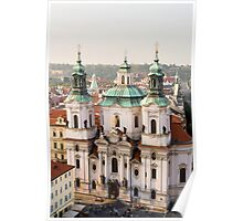 Saint Nicholas Church in Prague Poster