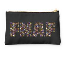 Five Nights at Freddy's - Pixel art - FNAF typography Studio Pouch