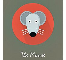 The Mouse Cute Portrait Photographic Print