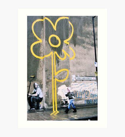London Banksy, 2007 Art Print