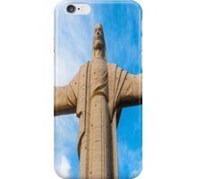 Christ Of Peace (Cristo De La Concordia, Cochabamba - Bolivia) iPhone Case/Skin