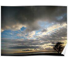 Moody Skies in Ramsgate Poster