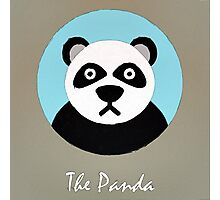 The Panda Cute Portrait Photographic Print