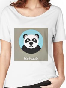 The Panda Cute Portrait Women's Relaxed Fit T-Shirt