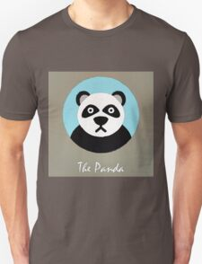The Panda Cute Portrait T-Shirt