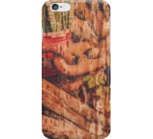 Cracks in the concrete are just reminders iPhone Case/Skin