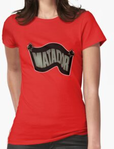 Matador Records Womens Fitted T-Shirt