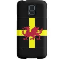 St Davids Cross And Welsh Dragon  Samsung Galaxy Case/Skin