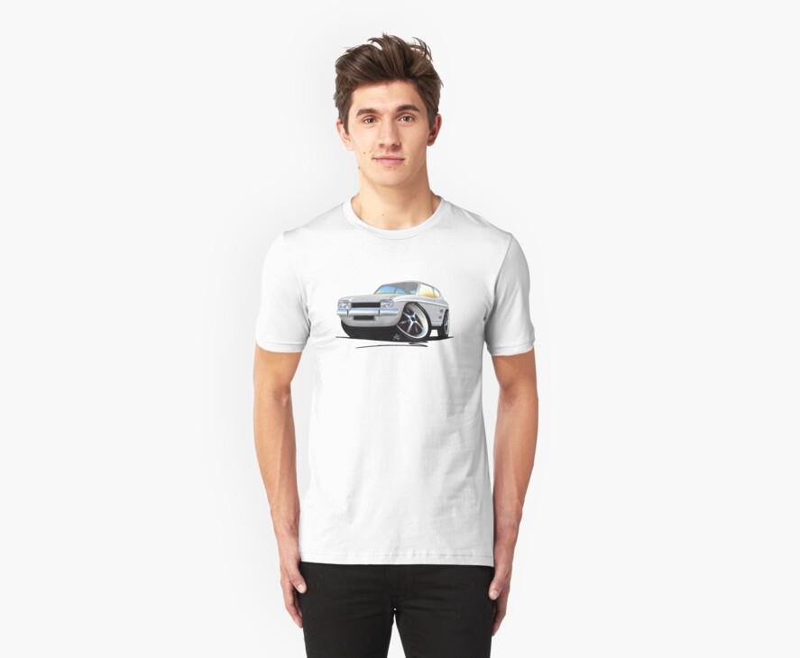 Ford Capri (Mk1) Silver by Richard Yeomans