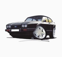 Ford Capri (Mk3) Black by Richard Yeomans