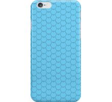 POSTER 16x20 HEXES black on LIGHT BLUE Black numbers iPhone Case/Skin