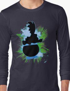 Super Smash Bros. Larry Silhouette Long Sleeve T-Shirt