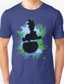 Super Smash Bros. Larry Silhouette Unisex T-Shirt