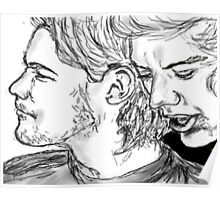 Larry Stylinson drawing Poster