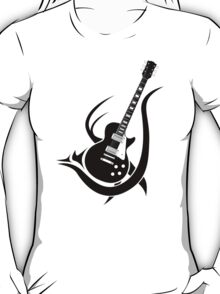 Tribal Guitar T-Shirt