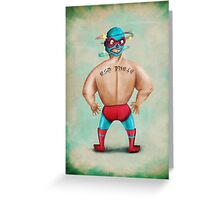 El Gigante Greeting Card