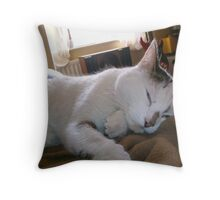 Thinking Thoughts Throw Pillow