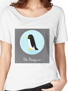 The Penguin Cute Portrait Women's Relaxed Fit T-Shirt