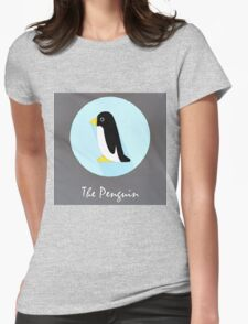 The Penguin Cute Portrait Womens Fitted T-Shirt