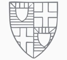 A Complete Guide to Heraldry - Figure 209 — The arms of Roger Mortimer, Earl of March and Ulster (d 1398) Kids Tee