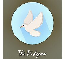 The Pidgeon Cute Portrait Photographic Print
