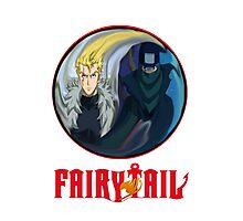 Fairy Tail (Laxus-Mystogan) YingYang Photographic Print