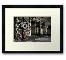 Which weigh? Framed Print