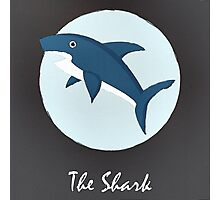 The Shark Cute Portrait Photographic Print