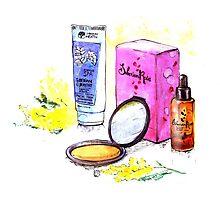 Cosmetics Photographic Print