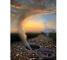 Cloudy Escape Photographic Print