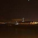 Pier Night Shot by yusstay