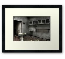 Dead and gone Framed Print