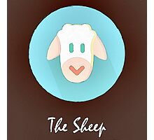 The Sheep Cute Portrait Photographic Print