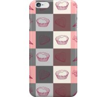 Seamless pattern Dolce vita iPhone Case/Skin