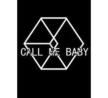 EXODUS call me baby logo ver. 3 Photographic Print