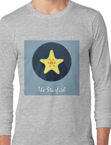 The Starfish Cute Portrait Long Sleeve T-Shirt