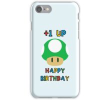 Happy Birthday - one UP iPhone Case/Skin