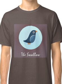 The Swallow Cute Portrait Classic T-Shirt