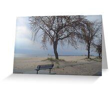 Pere Marquette Lake Michigan Greeting Card