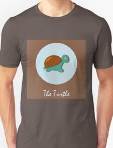 The Turtle Cute Portrait Unisex T-Shirt