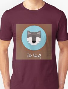The Wolf Cute Portrait T-Shirt