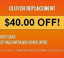 Special Offer!! Transmission Shop in Houston by APlusTrans