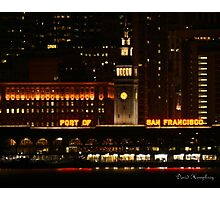 Port of San Francisco Photographic Print