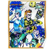 Capcom zombies Poster