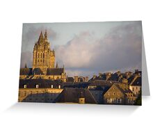 Saint Pierre de Coutances Greeting Card
