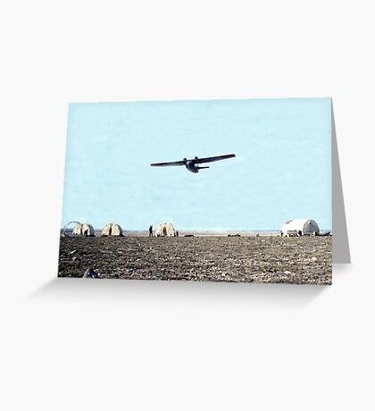 Arctic Flypast Greeting Card